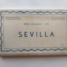 Postales: SEVILLA BLOC COMPLETO DE 10 POSTALES . Lote 169028464