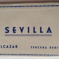 Postales: SEVILLA BLOC COMPLETO DE 10 POSTALES . Lote 169028608