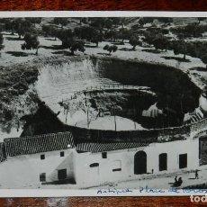 Postales: FOTO POSTAL DE ARCOS DE LA FRONTERA, CADIZ, ANTIGUA PLAZA DE TOROS 1918, NO CIRCULADA, ESCRITA.. Lote 169230592