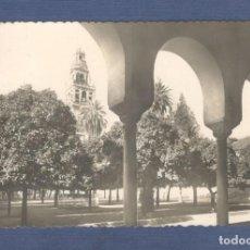 Postales: POSTAL CORDOBA: MEZQUITA CATEDRAL. CLAUSTRO DEL PATIO DE LOS NARANJOS. - GARRABELLA - CIRCULADA. Lote 169388684