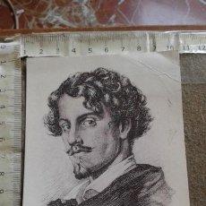 Postales: POSTAL CON IMAGEN DE GUSTAVO ADOLFO BECQUER - CIRCULADA. Lote 169446208