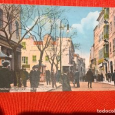 Postales: GIBRALTAR WATERPORT STREET AND THE EXCHANGE. Lote 169454980