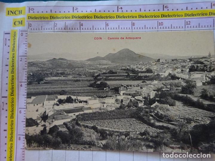 POSTAL DE MÁLAGA. AÑOS 10 30. COIN. CAMINO DE ANTEQUERA. CASA EDITORIAL VALLADOLID. 2201 (Postales - España - Andalucía Antigua (hasta 1939))
