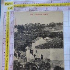 Postales: POSTAL DE MÁLAGA. AÑOS 10 30. COIN. MOLINO DEL INFIERNO. CASA EDITORIAL VALLADOLID. 2204. Lote 169830640