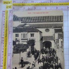 Postales: POSTAL DE MÁLAGA. AÑOS 10 30. COIN. PARROQUIA DE SAN JUAN. MISA. CASA EDITORIAL VALLADOLID. 2205. Lote 169830680