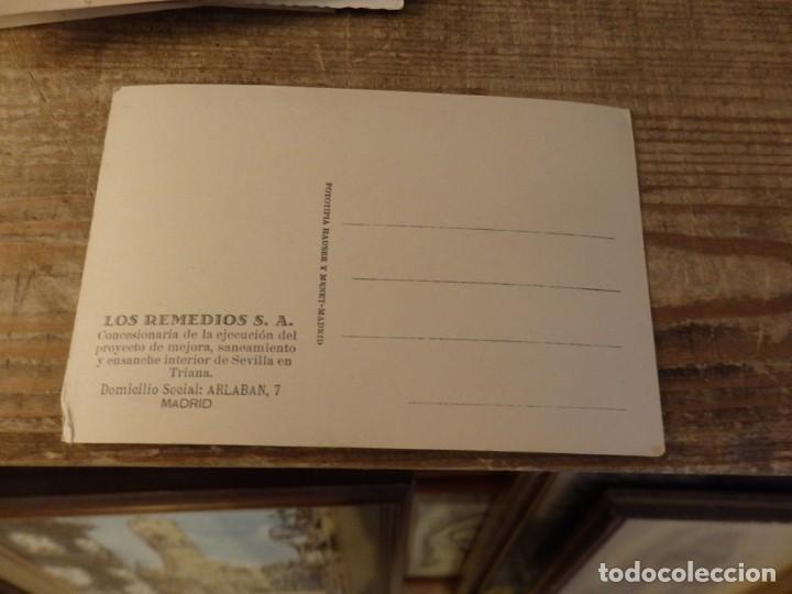 Postales: SEVILLA - RARA POSTAL DE LOS REMEDIOS S.A. URBANIZACIÓN DE TRIANA - Foto 2 - 169865132