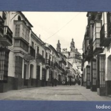 Postales: TARJETA POSTAL OLVERA (CADIZ): CALLE GENERAL FRANCO - FOTO CUBILES - SIN CIRCULAR. Lote 170215460