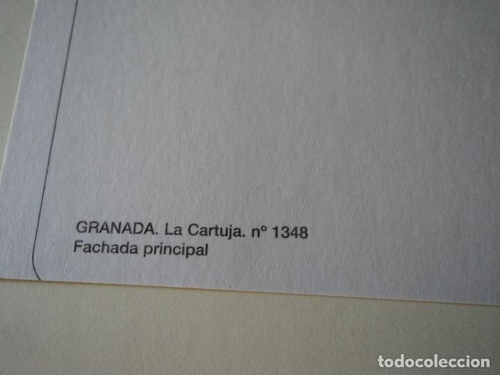 Postales: GRANADA LA CARTUJA FACHADA PRINCIPAL POSTALES GRANADA - Foto 2 - 170294400