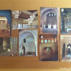 Postales: LOTE POSTALES GRANADA - ALHAMBRA. Lote 171231793