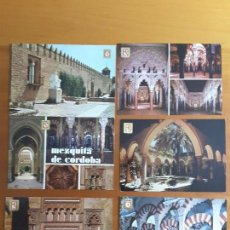 Postales: SEIS POSTALES CÓRDOBA - MEZQUITA. Lote 171233027