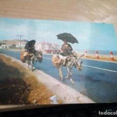 Postales: POSTAL DE FUENGIROLA, MÁLAGA. AÑO 1964. MUJERES CAMPESINAS DE COMPRAS. 864. Lote 171237149