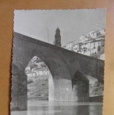 Postales: POSTAL - MONTORO (CORDOBA) - PUENTE DE LAS DONCELLAS - CIRCULADA EL 18 DE OCTUBRE DE 1960. Lote 171241727