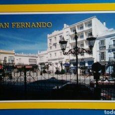 Postales: POSTAL 26 SAN FERNANDO CÁDIZ PLAZA DE LA IGLESIA AÑO 1995 EDICIONES ARRIBAS. Lote 171245207