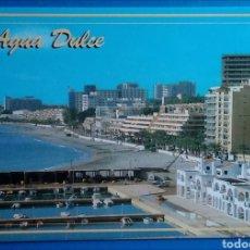 Postales: POSTAL 34 AGUADULCE ALMERÍA VISTA PARCIAL AÑO 1988 EDICIONES ARRIBAS. Lote 171268157