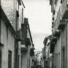 Postales: BERJA-CALLE JOSE ANTONIO-FOTOGRÁFICA- MORENO- 1955. Lote 171309644