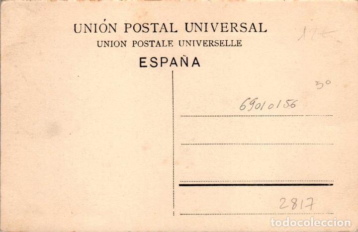 Postales: ANDALUCIA MÁLAGA PUERTA DE LAS CADENAS POSTAL ANTIGUA - Foto 2 - 171393372