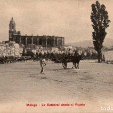 Postales: ANDALUCIA MÁLAGA LA CATEDRAL POSTAL ANTIGUA. Lote 171393377