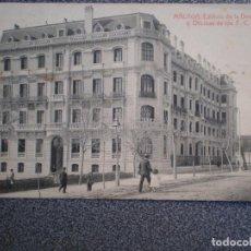 Postales: ANDALUCIA MALAGA EDIFICIO DE LA DIRECCION Y OFICINAS DE LOS F.C. POSTAL ANTIGUA. Lote 171394833