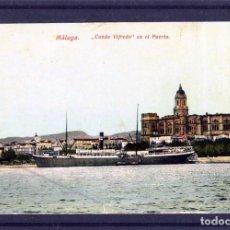 Postales: POSTAL DE MALAGA-EDICIÓN J.R.L. CLICHÉ J.B. (JOSE BURGOS)-VER FOTO ADICIONAL DEL REVERSO . . Lote 171473978