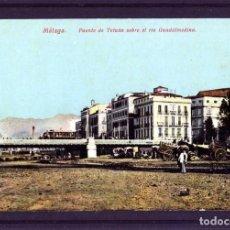Postales: POSTAL DE MALAGA-EDICIÓN J.R.L. CLICHE J.B. (JOSE BURGOS)-VER FOTO ADICIONAL DEL REVERSO .. Lote 171476445