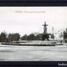 Postales: POSTAL DE MALAGA-EDICIÓN FIN DE SIGLO-TITULO EXPLANADA HOSPITAL NOBLE-VER FOTO ADICIONAL REVERSO .. Lote 171477729