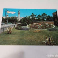 Postales: CÁDIZ - POSTAL CÁDIZ - RELOJ FLORAL Y MONUMENTO A LAS CORTES. Lote 171695063