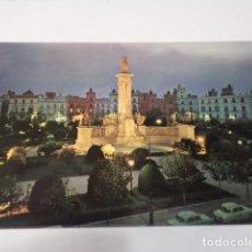 Postales: CÁDIZ - POSTAL CÁDIZ - PLAZA DE ESPAÑA Y MONUMENTO A LAS CORTES - NOCTURNO. Lote 171698154