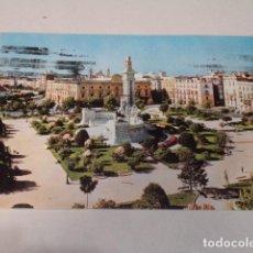 Postales: CÁDIZ - POSTAL CÁDIZ - PLAZA DE ESPAÑA Y MONUMENTO A LAS CORTES. Lote 171698457