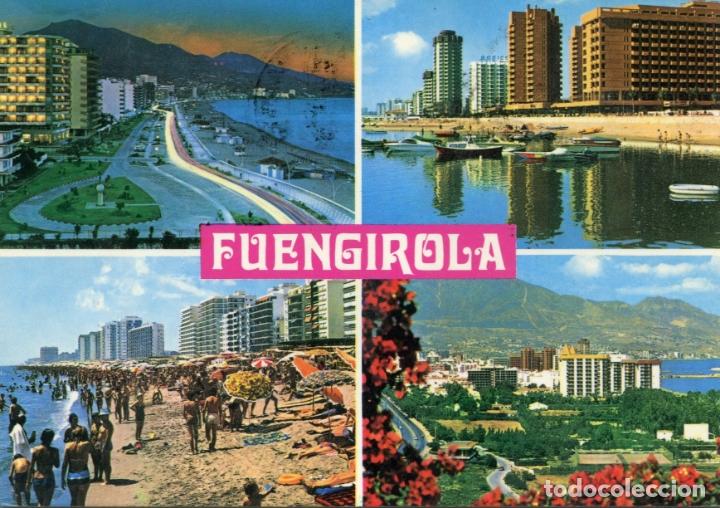 FUENGIROLA. COSTA DEL SOL. CIRCULADA. BAENA. VER FOTO (Postales - España - Andalucia Moderna (desde 1.940))