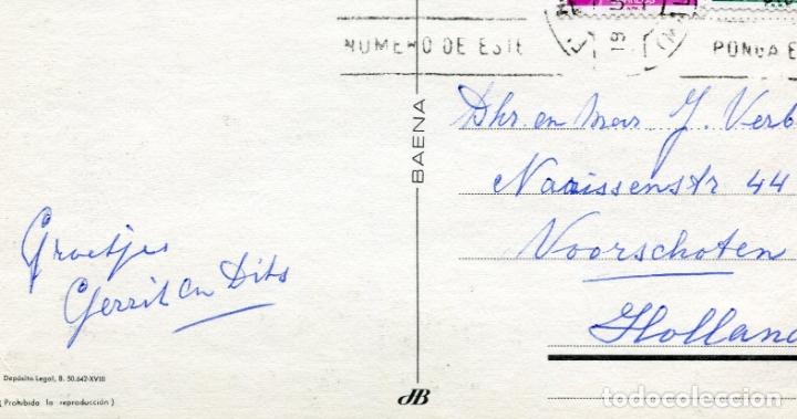 Postales: FUENGIROLA. CIRCULADA. VISTA PARCIAL. BAENA. VER REVERSO - Foto 2 - 171781252