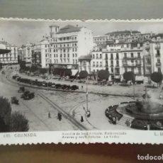 Postales: POSTAL GRANADA AVENIDA DE JOSE ANTONIO EMBOVEDADO. Lote 171781638