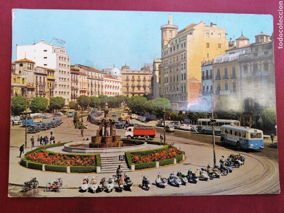 GRANADA PLAZA VESPA COCHES SEISCIENTOS PUERTA REAL (Postales - España - Andalucia Moderna (desde 1.940))