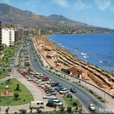 Postales: FUENGIROLA. CIRCULADA. LOS BOLICHES. PASEO MARITIMO. BAENA. VER REVERSO. Lote 171789609