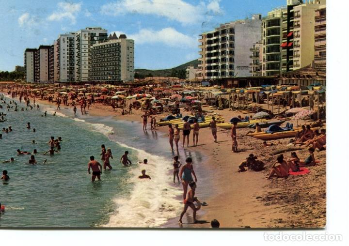 FUENGIROLA. CIRCULADA. PLAYA.. GARCIA GARRABELLA. VER REVERSO (Postales - España - Andalucia Moderna (desde 1.940))