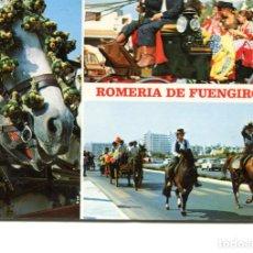 Postales: FUENGIROLA. CIRCULADA. ROMERIA TIPICA. EDICIONES FOTO ANTONIO. VER REVERSO. Lote 171789990