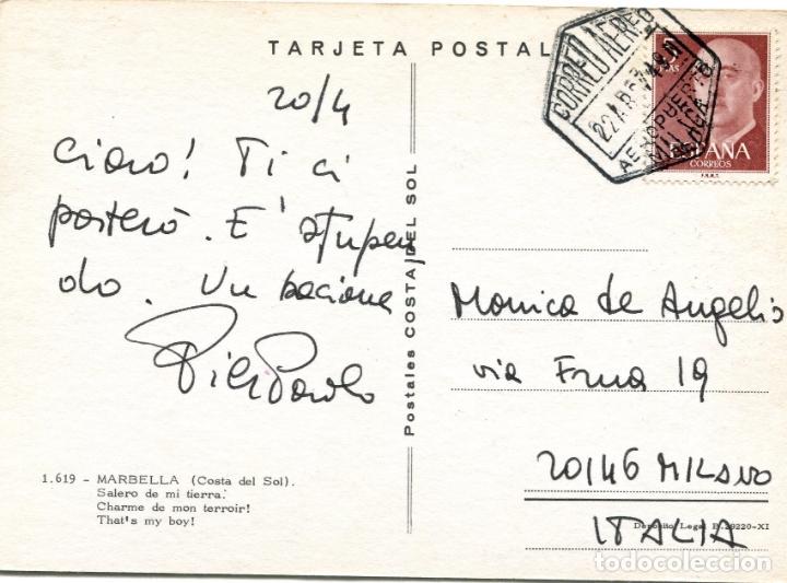 Postales: MARBELLA. CIRCULADA. POSTALES COSTA DEL SOL. VER REVERSO - Foto 2 - 171803610