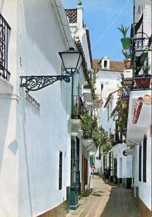 MARBELLA. CIRCULADA. POSTALES COSTA DEL SOL. VER REVERSO (Postales - España - Andalucia Moderna (desde 1.940))