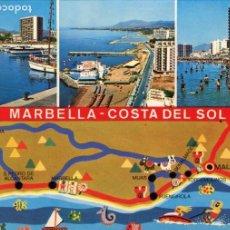 Postales: MARBELLA. CIRCULADA. EDICIONES ARRIBAS. VER REVERSO. Lote 171807264