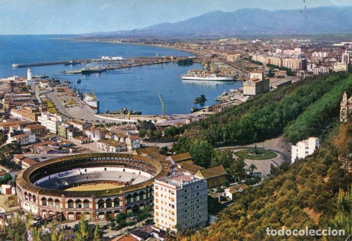 MALAGA. VISTA PARCIAL CIRCULADA. GARCIA GARRABELLA.. VER REVERSO (Postales - España - Andalucia Moderna (desde 1.940))