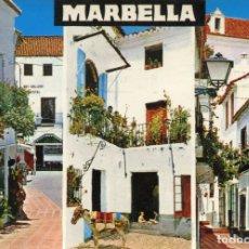 Postales: MARBELLA . COSTA DEL SOL. CIRCULADA. ED. BEASCOA. VER REVERSO. Lote 171815470