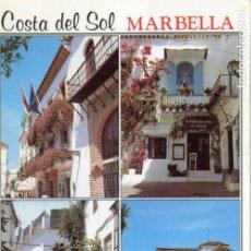 Postales: MARBELLA . COSTA DEL SOL. CIRCULADA. COMERCIAL REGALOSOL. VER REVERSO. Lote 171815835