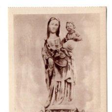 Postales: HUELVA.- CONVENTO DE LA RÁBIDA.IMAGEN DE SANTA MARÍA DE LA RÁBIDA, SIGLO XIV.Nº 6 . Lote 171923888