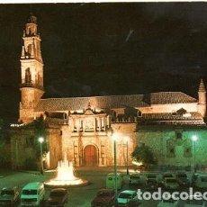 Postales: HINOJOSA DEL DUQUE - 10008 PLAZA DE LOS MÁRTIRES Y PARROQUIA DE SAN JUAN BAUTISTA. Lote 171956723