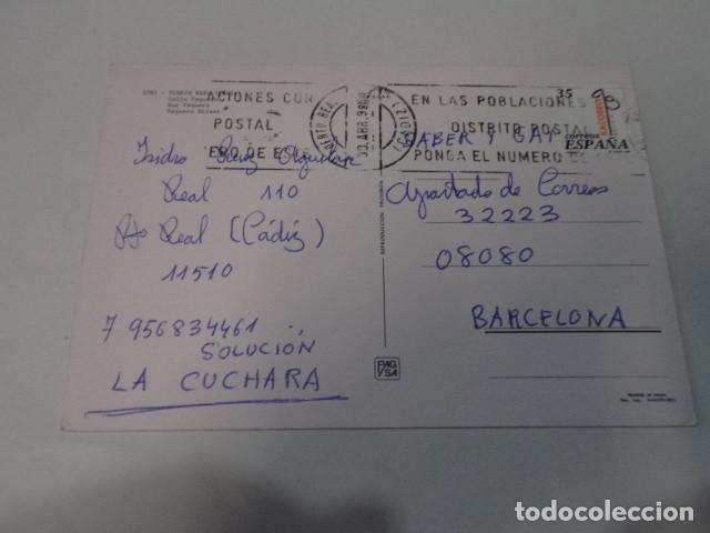 Postales: CÁDIZ - POSTAL PUERTO REAL - CALLE VAQUERO - Foto 2 - 171961430