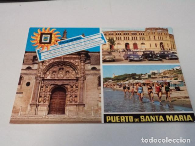 CÁDIZ - POSTAL PUERTO DE SANTA MARÍA - IGLESIA MAYOR PRIORAL (Postales - España - Andalucia Moderna (desde 1.940))