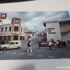 Postales: CÁDIZ - POSTAL SAN ROQUE - PLAZA GENERAL FRANCO Y CALLE JOSÉ ANTONIO. Lote 171963098