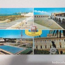 Postales: CÁDIZ - POSTAL SAN FERNANDO - DIVERSOS ASPECTOS. Lote 171963248