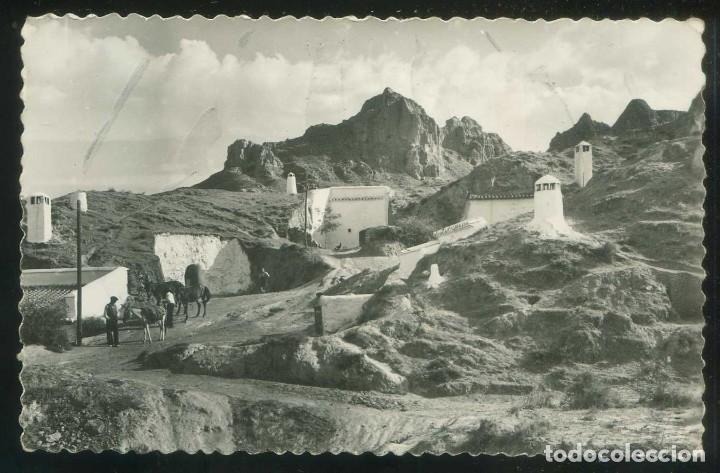 GUADIX. *VISTA DE CUEVAS* ED. PÉREZ RUIZ Nº 108. NUEVA. (Postales - España - Andalucia Moderna (desde 1.940))