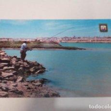 Postales: CÁDIZ - POSTAL SAN FERNANDO - LA ISLA - VISTA PARCIAL DESDE CAÑO SANCTI-PETRI. Lote 171964728