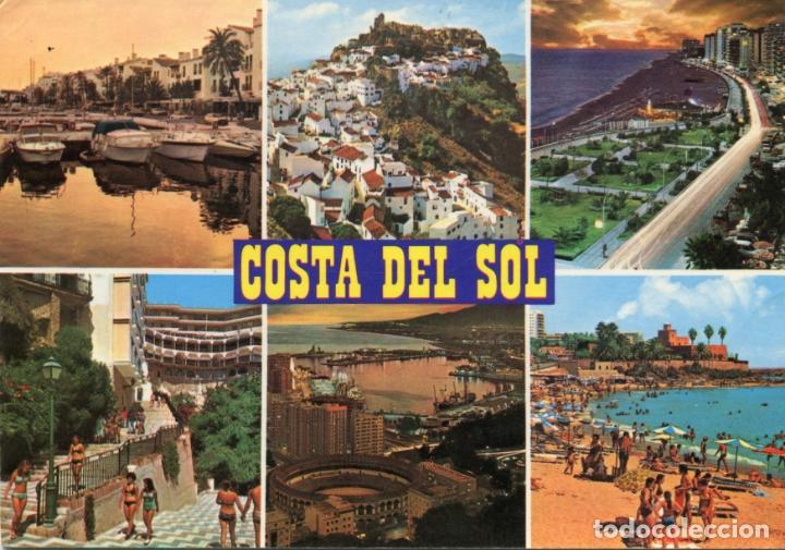 COSTA DEL SOL. MARBELLA CASARES, FUENGIROLA.... CIRCULADA. BAENA. VER REVERSO (Postales - España - Andalucia Moderna (desde 1.940))